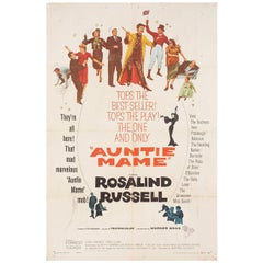 Auntie Mame 1958 U.S. One Sheet Film Poster