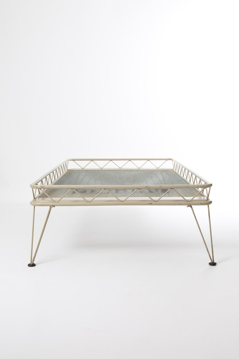 Auping Arielle Bed Daybed Wim Rietveld Dutch Industrial Design In Good Condition For Sale In LA Arnhem, NL