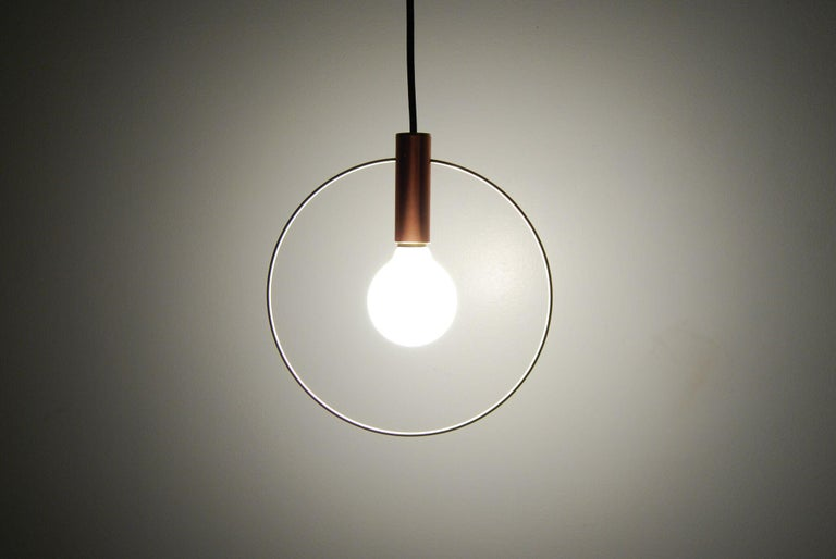 American Aura Pendant Light Three-Piece Radial Cluster For Sale