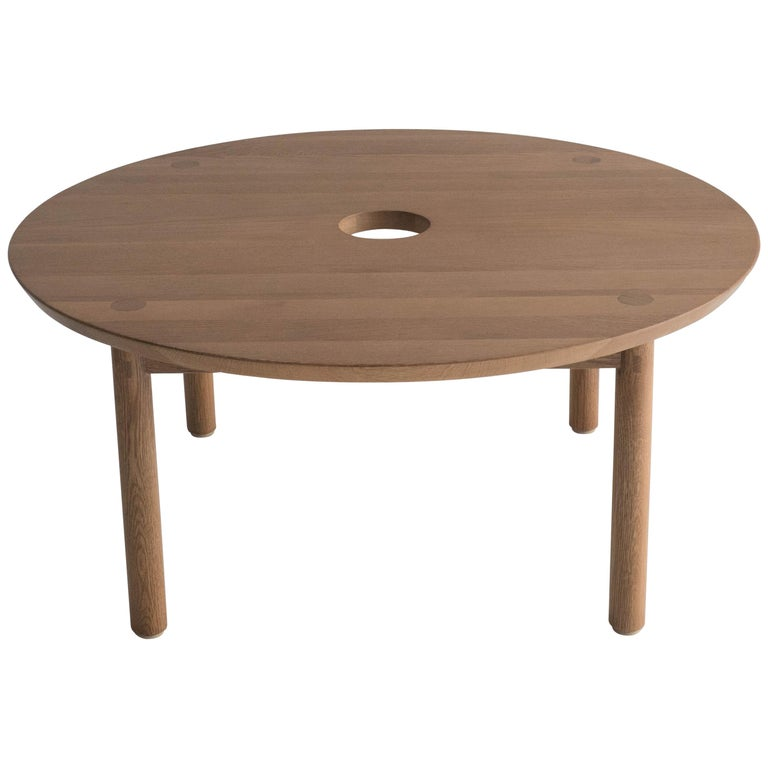 Aurea Coffee Table by Sun at Six, Sienna Minimalist / Midcentury Table in Wood For Sale