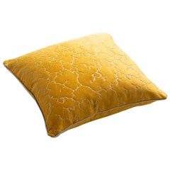 Aurelian Stuart Scott Gold Jacquard Velvet Cushion