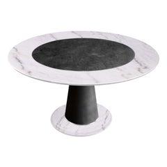 Aurelio Statuario Dining Table