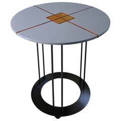 Aureola CF1 C Blue Side Table