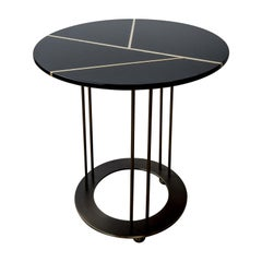 Aureola CF1 F Black Side Table