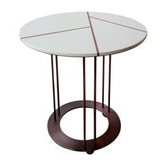 Aureola CF1 F White Side Table