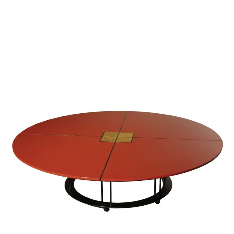 aureola cf2 c red coffee table