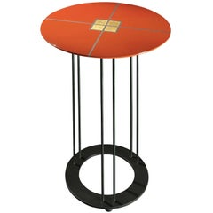 Aureola D45 C Red Side Table
