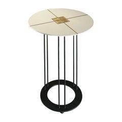 Aureola Ivory Tall Coffee Table