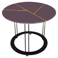 Aureola Purple Coffee Table