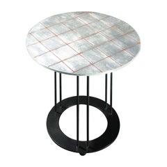 Aureola Silver Coffee Table