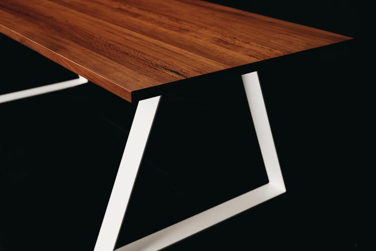 Australian Aurora Dining Table, Handcrafted in Murray River Red Gum Hardwood For Sale