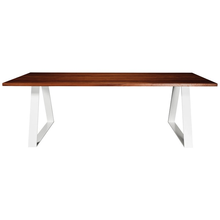 Aurora Dining Table, Handcrafted in Murray River Red Gum Hardwood For Sale