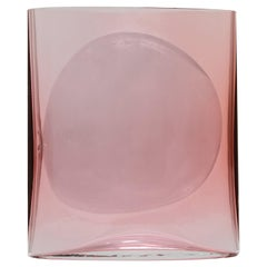 Aurora Reddish Small Isla Glass Vase