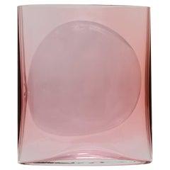 Aurora Reddish Small Isla Glass Vase