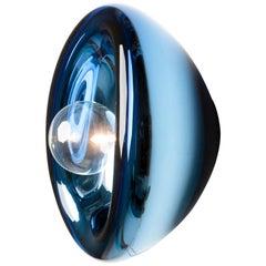 Aurum Blue Glass Sconces, Alex de Witte