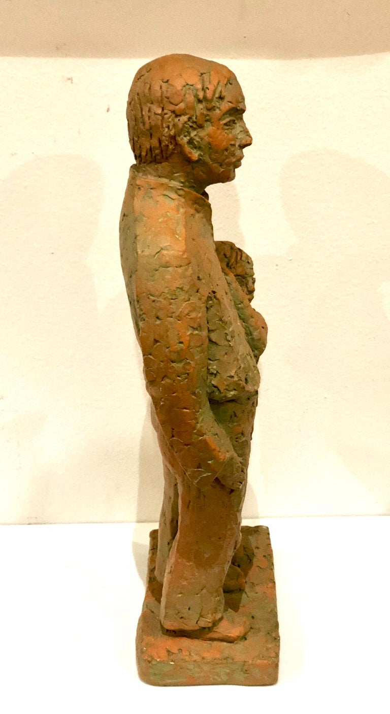 Nice sculpture by Austin Production, in plaster stamped 1969.
