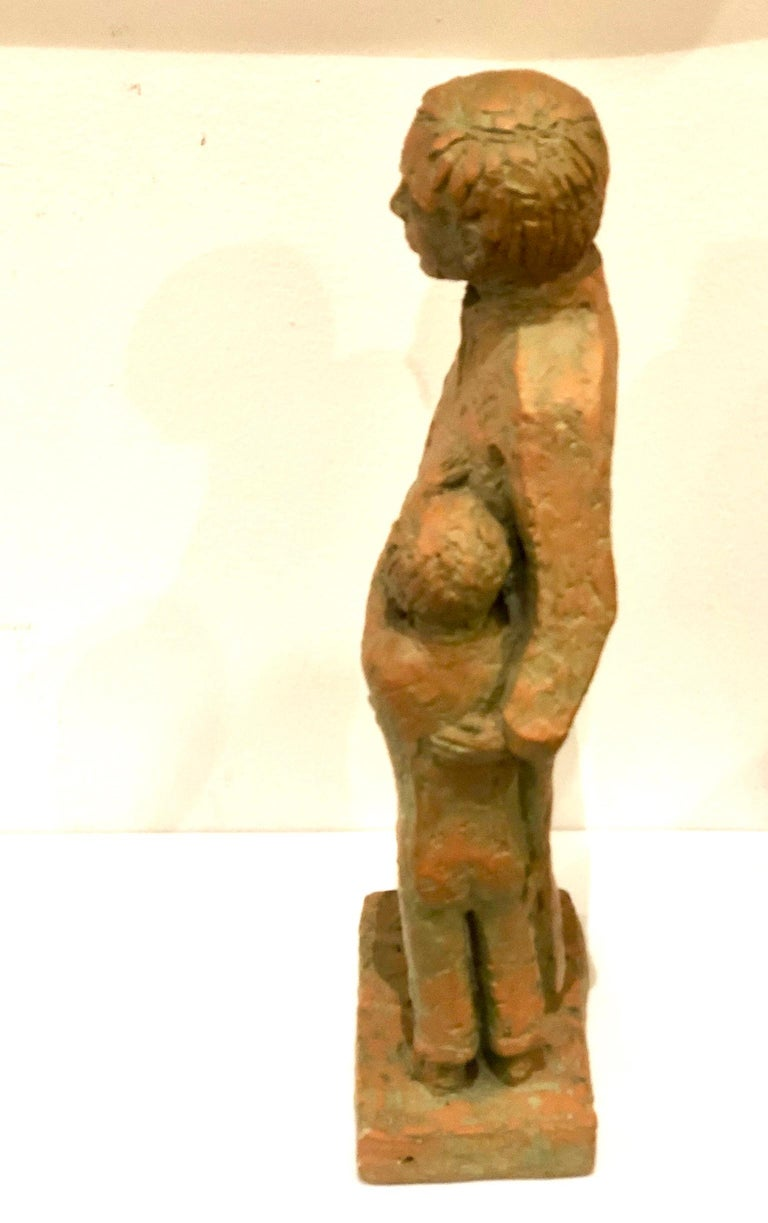 American Classical Austin Productions Father & Son Sculpture For Sale