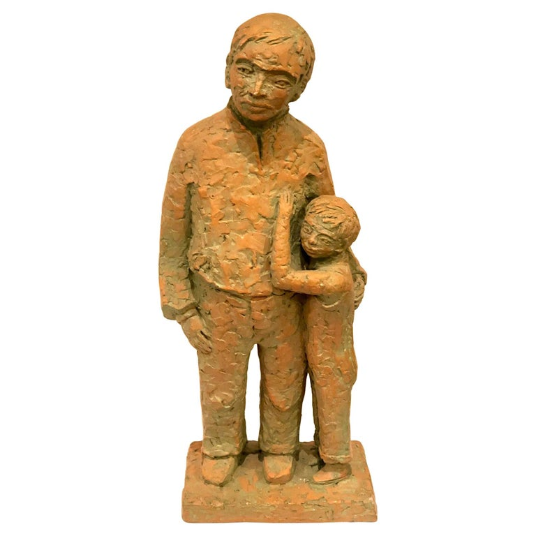 Austin Productions Father & Son Sculpture For Sale