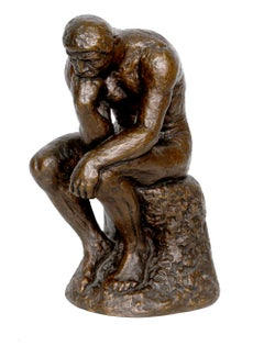 The Thinker, after Rodin