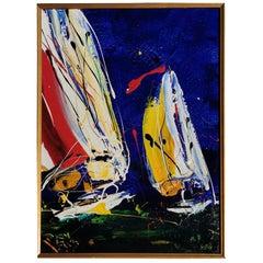 Australian Yacht Painting