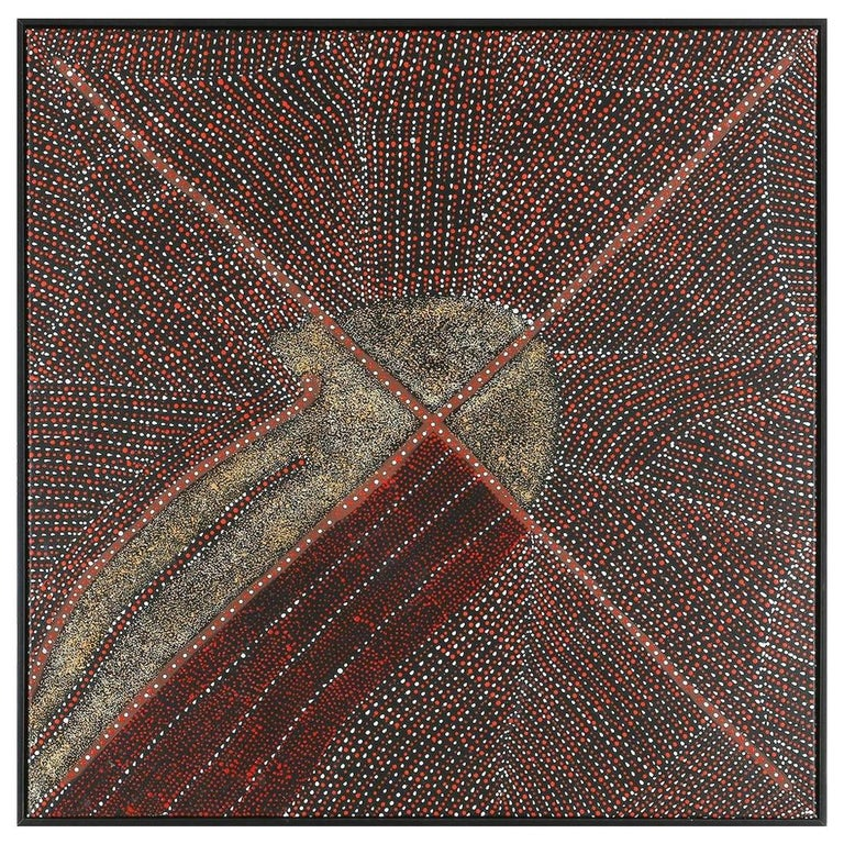 Australian Aboriginal Painting by Kathleen Petyarre For Sale