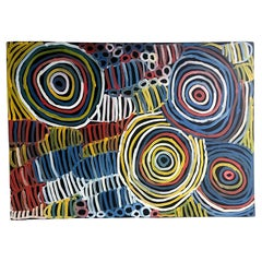 Australian Aboriginal Painting by Minnie Pwerle