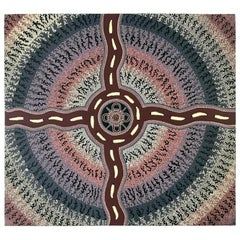 Australian Aboriginal Painting by Sam Dickensen