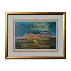 Australian Artist Sidney Nolan, Bird, Limited Edition Photo Lithograph