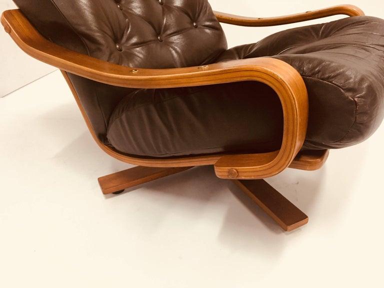 Australian Midcentury Danish Deluxe Leather Armchair ...