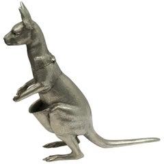 Australian Sterling Silver Model of a Kangaroo