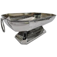 Austrian Art Deco Modern Classical Centerpiece Bowl