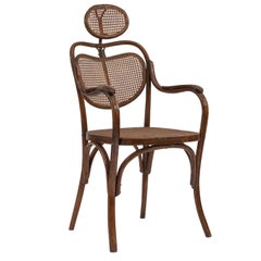 Austrian Bentwood Barbers Chair