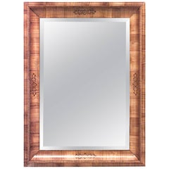 Austrian Biedermeier Cherrywood Wall Mirror