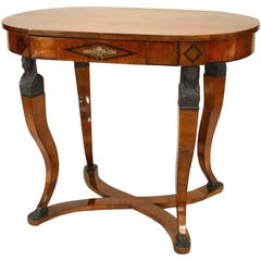 Austrian Biedermeier Oval Centre Table