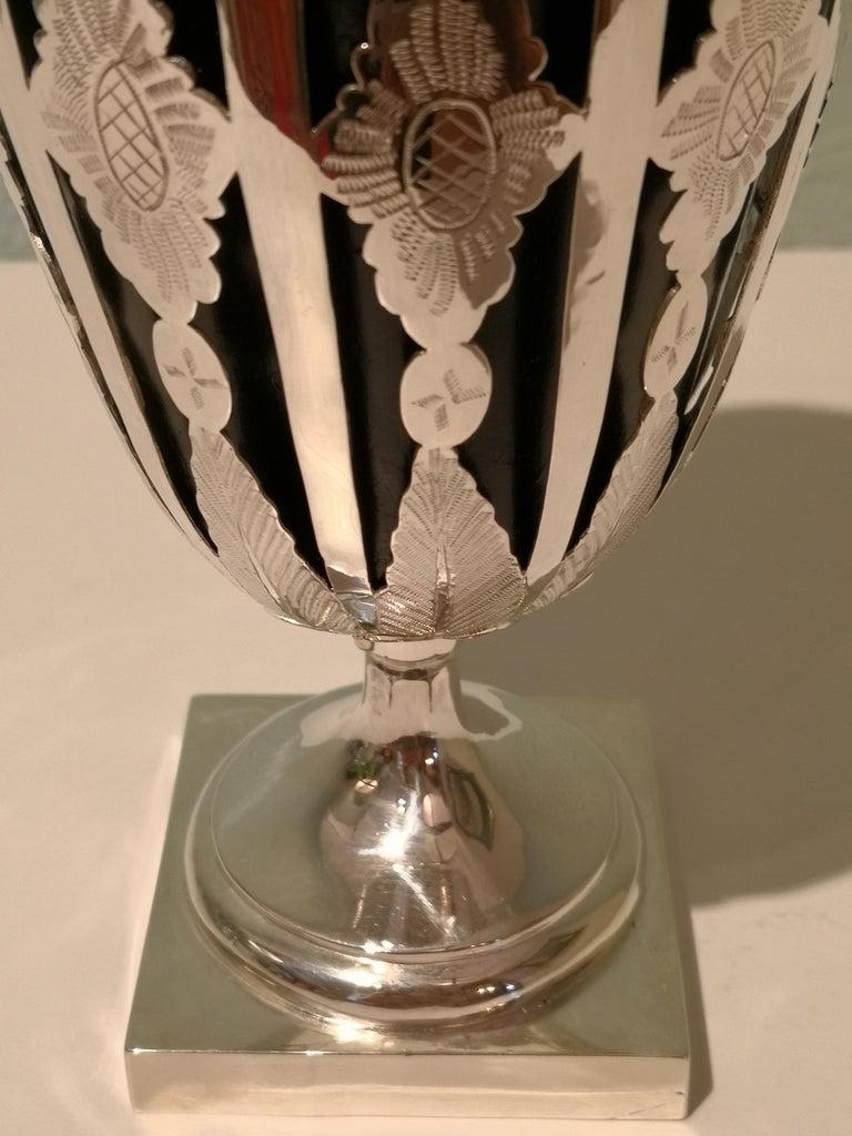 Austrian Biedermeier Silver Vase  For Sale 2