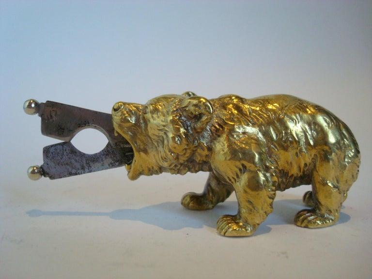 Austrian Bronze Bear Cigar Cutter, ca 1900´s For Sale 1