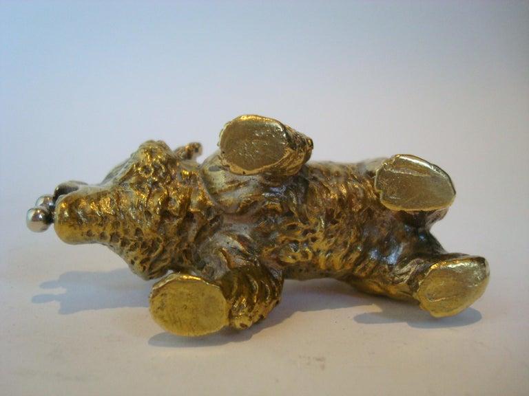 Austrian Bronze Bear Cigar Cutter, ca 1900´s For Sale 3