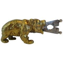 Austrian Bronze Bear Cigar Cutter, ca 1900´s