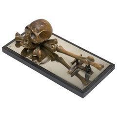 Austrian Bronze Desk Clip