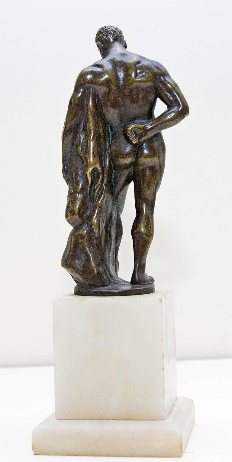 Austrian Bronze Figure of Hercules For Sale 1