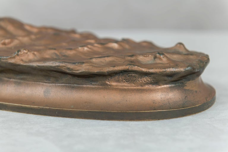Austrian Bronze of a Swimmer, Artist Signed, circa 1920 For Sale 1