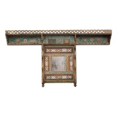 Austrian Early 19th Century Hand Painted Coat Rack
