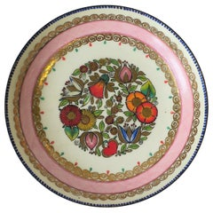 Austrian Porcelain Enamel Bowl or Jewelry Dish