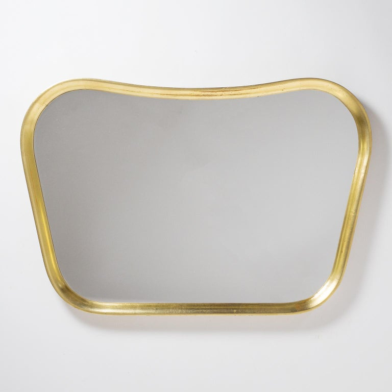 Austrian Giltwood Mirror, 1940s For Sale 5