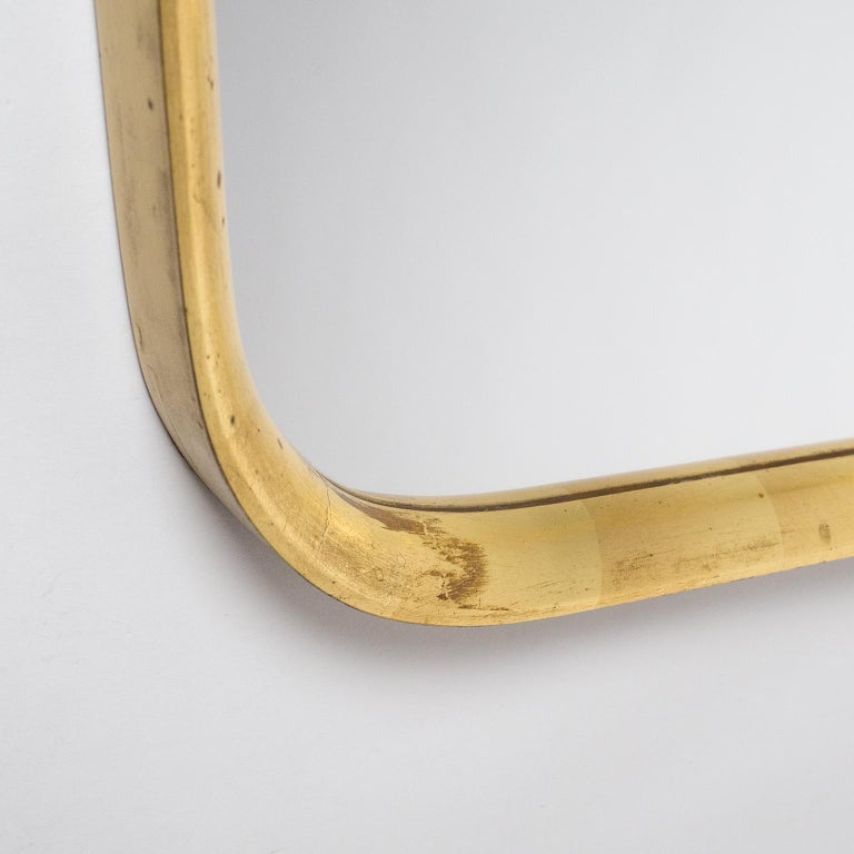 Mid-20th Century Austrian Giltwood Mirror, 1940s For Sale