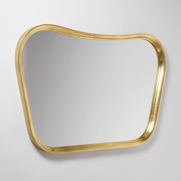 Austrian Giltwood Mirror, 1940s For Sale 3