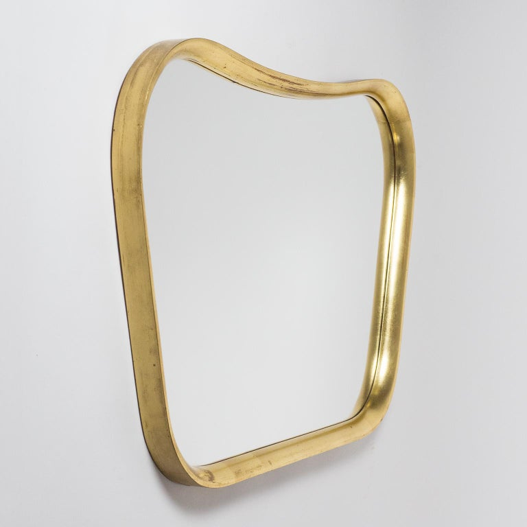 Austrian Giltwood Mirror, 1940s For Sale 4