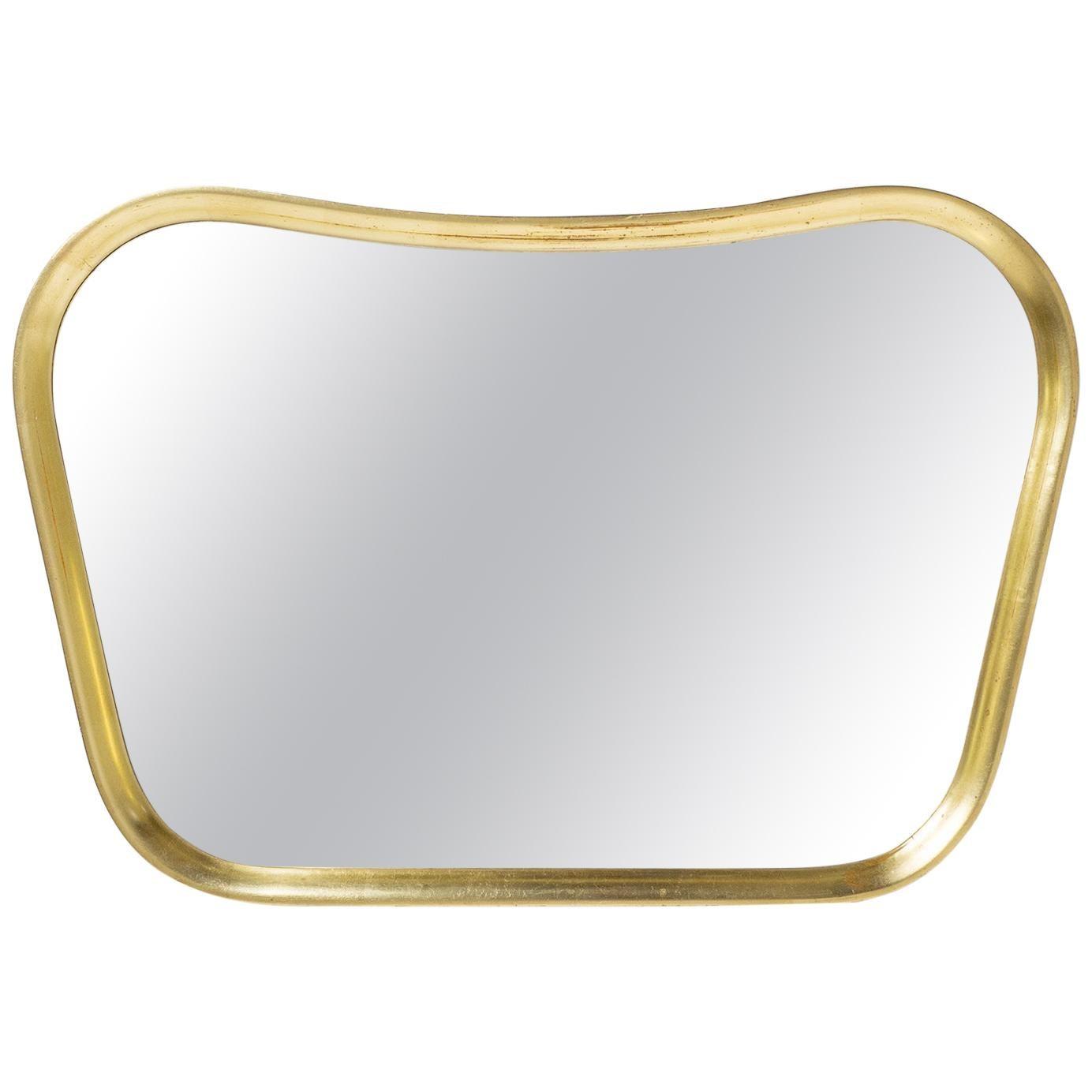 Austrian Giltwood Mirror, 1940s