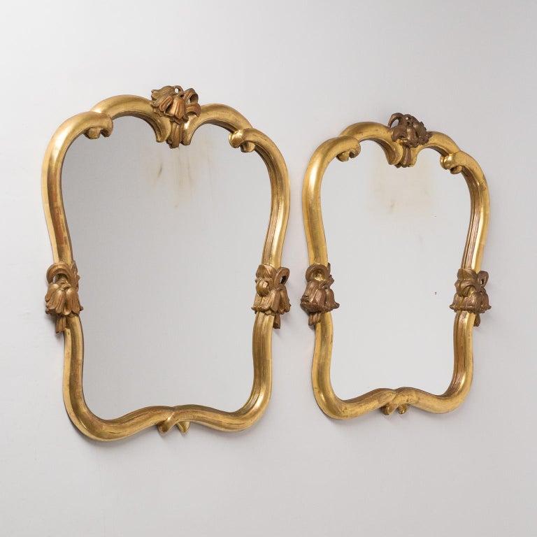 Austrian Giltwood Mirrors, circa 1930, Max Welz For Sale 7