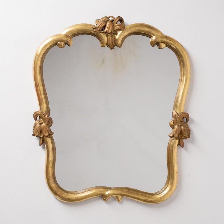 Austrian Giltwood Mirrors, circa 1930, Max Welz For Sale 3